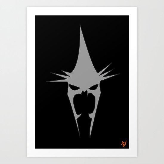 The Witch King (Minimalist) Art Print