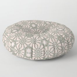 Mandalic Storm Mirror Pattern 4 Floor Pillow