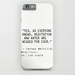Herman Melville quote 17 iPhone Case