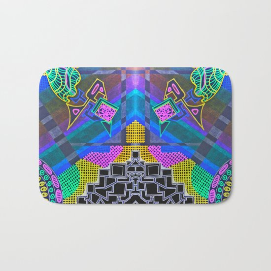Abstract 2B Bath Mat
