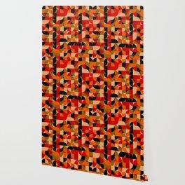 vector Design Deco, rustic colors. Wallpaper