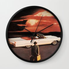 Drive It All Over Me (Holocaust Remix) Wall Clock