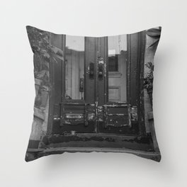 61st Street Throw Pillow