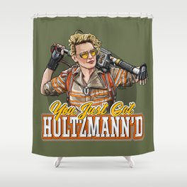 Holtz gonna give it to ya Shower Curtain
