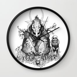 KING FOREST Wall Clock