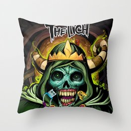 the linch Throw Pillow
