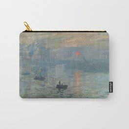 Claude Monet's Impression, Soleil Levant Carry-All Pouch