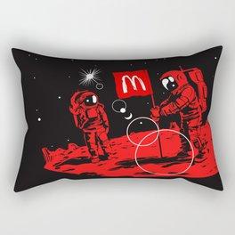 First we take Manhattan, Then we take Mars Rectangular Pillow