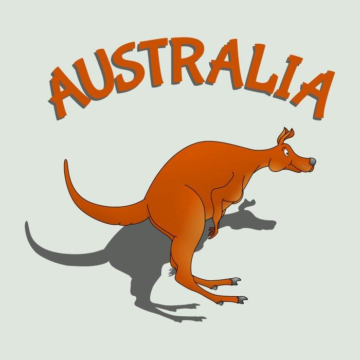 Kangaroo Australia Comforters