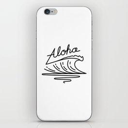 Aloha iPhone Skin