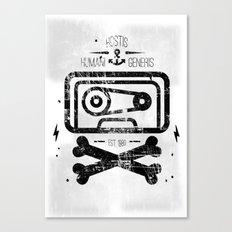 Pirate Tape Canvas Print