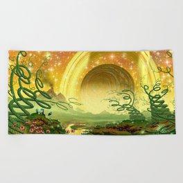 Majestic Night Beach Towel