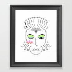Bowie Framed Art Print
