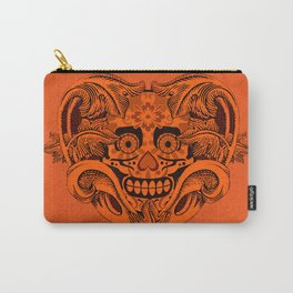Halloween Crazy Heart Carry-All Pouch