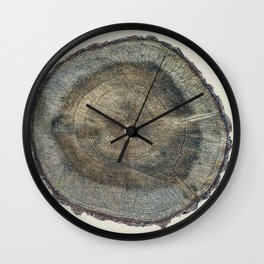 Stump Rings Wall Clock