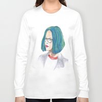 ghost world Long Sleeve T-shirts featuring Ghost World by holy crow