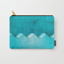 Along the Shores of Clear Bays Carry-All Pouch