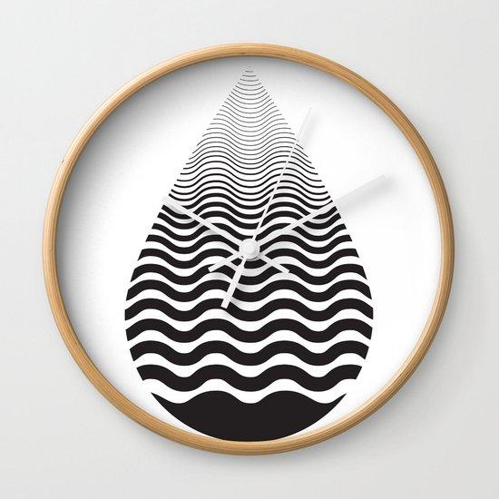 Water Drop Wall Clock