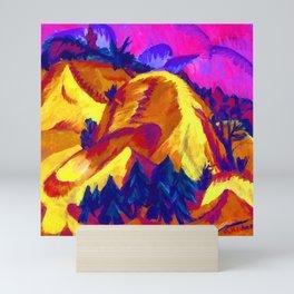 Ernst Ludwig Kirchner Sand Hills in Grunau Mini Art Print