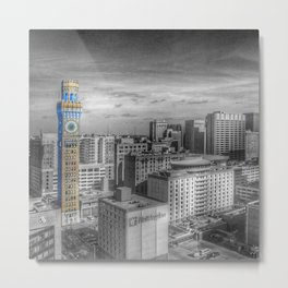 Baltimore Landscape - Bromo Seltzer Arts Tower Metal Print