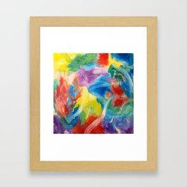 Fountain of Light / Fuente de Luz Framed Art Print
