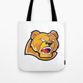 Grizzlies Sports Logo Tote Bag