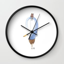Numero 6 -Cosi che cavalcano Cose - Things that ride Things- NUOVA SERIE - NEW SERIES Wall Clock