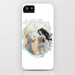 Super Powered: Fight Like a Girl iPhone Case