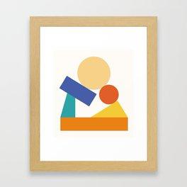 As a child Framed Art Print