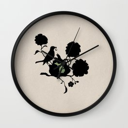 Michigan - State Papercut Print Wall Clock