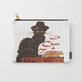 Le Chat De Thanksgiving Carry-All Pouch