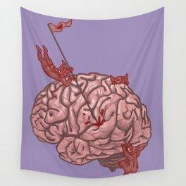 Pandemonium of the Brain Wall Tapestry