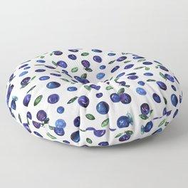 Blueberries Floor Pillow