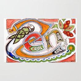 Zen-enluminure-celtic Rug