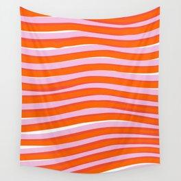 electric zebra stripes Wall Tapestry