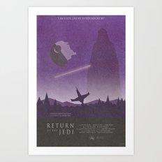 Return of the Jedi Movie Poster Art Print