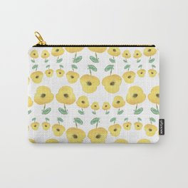 yellow poppies dance Carry-All Pouch