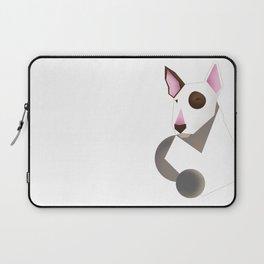 White bull terrier Laptop Sleeve