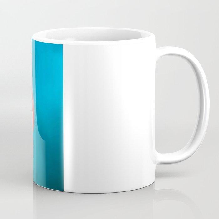 You turn my heart every which way - pink clover macro. Coffee Mug