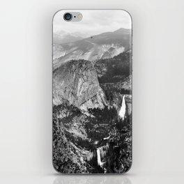 Vernal Falls and Nevada Falls in Yosemite National Park, California, 1901 iPhone Skin