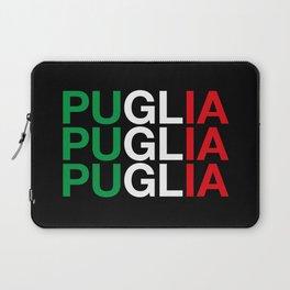 PUGLIA Italian Flag Laptop Sleeve