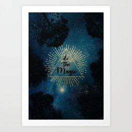 Do the Magic (Night Sky) Art Print