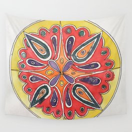 Radial Wall Tapestry
