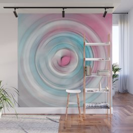 radial candy speed Wall Mural