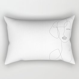 Feminine Touch Rectangular Pillow
