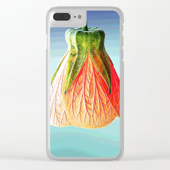 Beautiful flower #society6 Clear iPhone Case