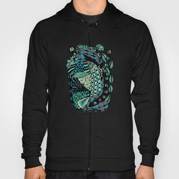 The wind that rocks the leaves Hoody