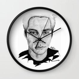 Dylan O'Brien / Void Stiles Wall Clock