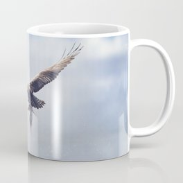 Osprey in Flight Carrying A Fish In It's Talons Coffee Mug
