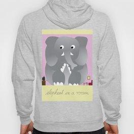 Elephant in a room Hoody